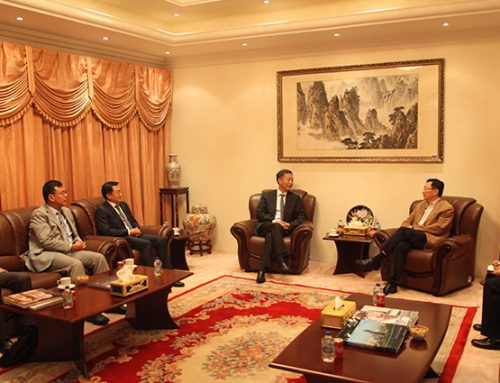 President Wang Xiangming Visited CSCEC Middle East