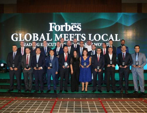 Mr Yu Tao Ranked No. 22nd in the Top 100 Executives in the Middle East 2017 by Forbes Middle East