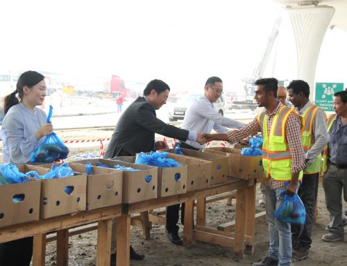 CSCEC ME Launched Beat the Heat Campaign at Al Wasl Project