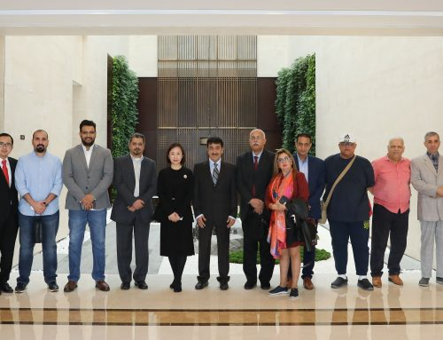 Kuwaiti Media Delegation Visited CSCEC Headquarters