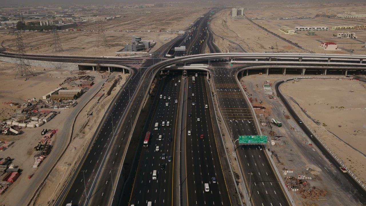 Al Yalayis Street and Al Asayel Street of R881/3C2 Parallel Roads Project Now Open