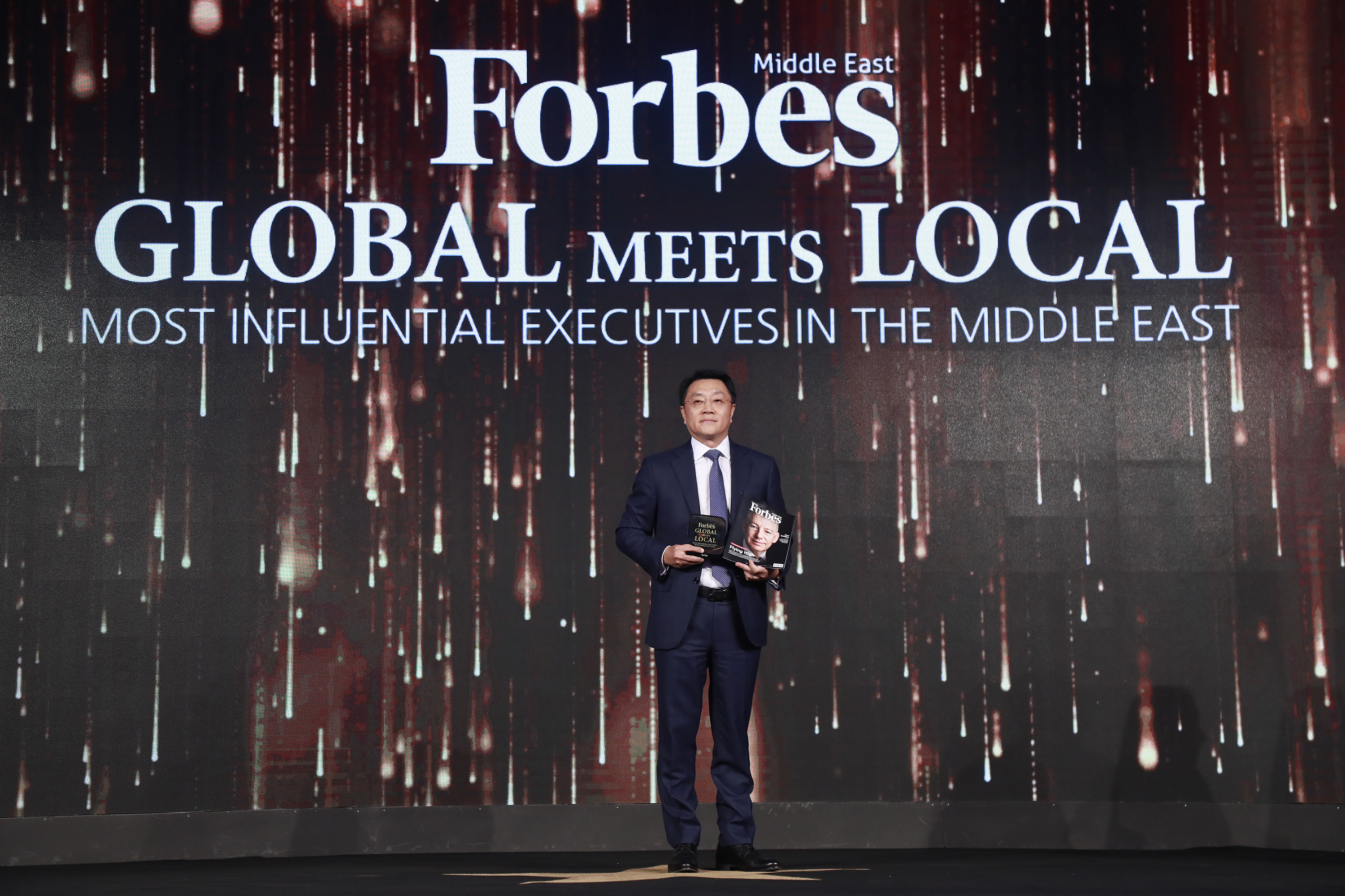 Yu Tao Ranked No. 9th on Forbes's List of the Top 50 Regional Executives Heading Global Companies
