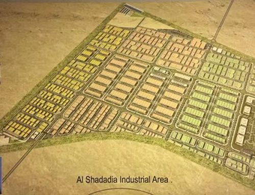 CSCEC ME  Awarded  Al-Shadadiya Industrial Zone Infrastructure Work Project