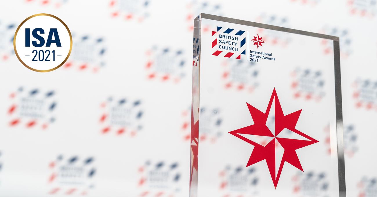 CSCEC ME Won 12 International Safety Awards in 2021